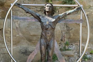 uomo vitruviano Andrea Roggi